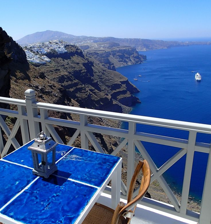 Enjoy breathtaking views from the private terrace of The Cliff Suite.