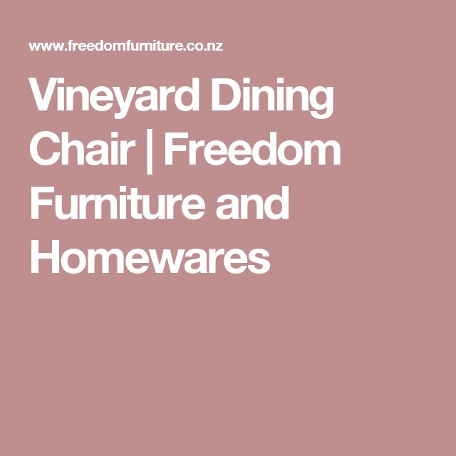 Vineyard Dining Chair | Freedom Furniture and Homewares