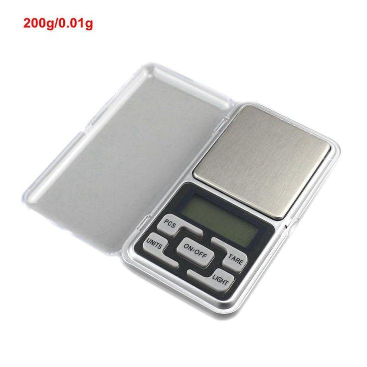 200g x 0.01g Electronic Mini Libra High Accuracy Digital Pocket Scale Weigh Balance