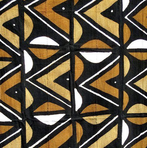 This mudcloth textile is from Ananse Village, a website carrying fair-trade fabrics from Africa.