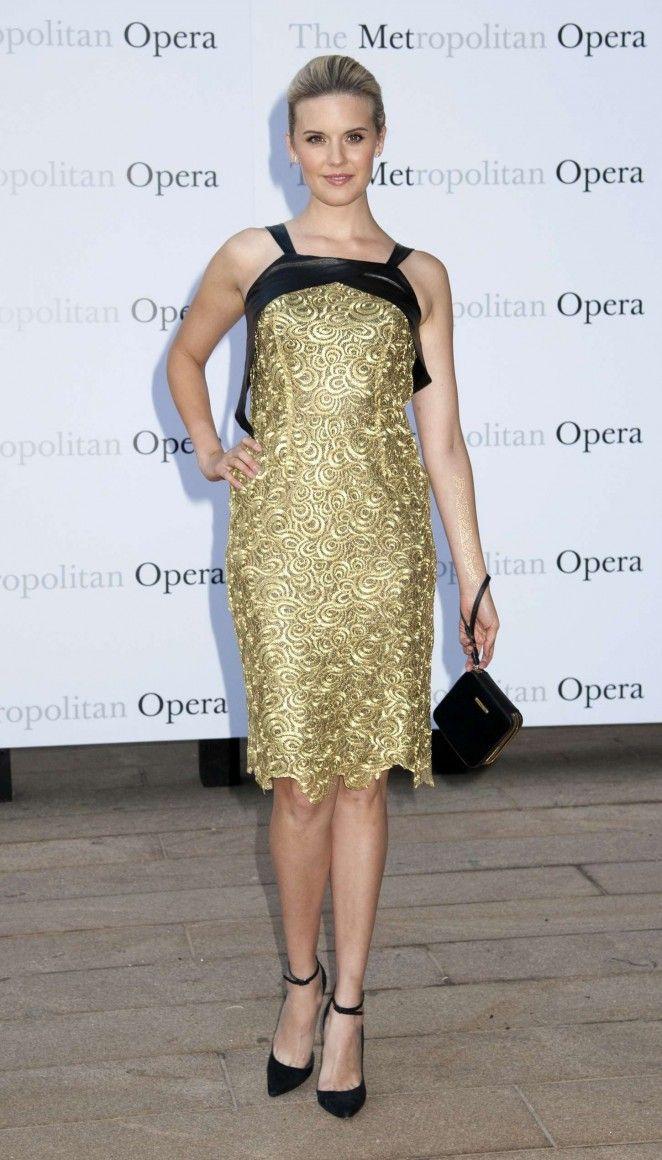 Maggie Grace - Metropolitan Opera Season Opening in NYC