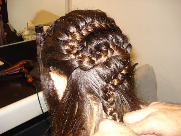 Opciones de peinados para fiestas o eventos