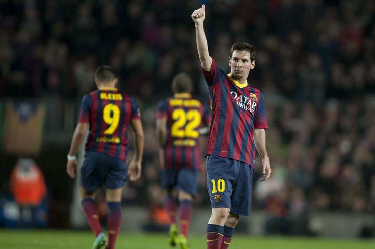 Elocuente gesto positivo de Leo Messi