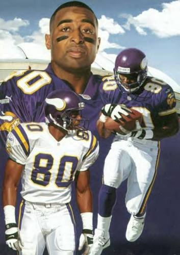 Cris Carter! One of my favorite WRs of all-time. He would definitely be in my top 10 list.