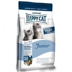 """Aus der Kategorie Trockenfutter  gibt es, zum Preis von   <p><font face=""""Arial, Helvetica, sans-serif"""" size=""""2"""">Sie erwerben den folgenden Artikel:</font></p> <p align=""""center""""><font face=""""Arial, Helvetica, sans-serif"""" size=""""4""""><b>Happy Cat Fit & Well Junior ,Futter, Tierfutter , Katzenfutter</b></font></p> <p><font face=""""Arial, Helvetica, sans-serif"""" size=""""2""""><b>Artikelbeschreibung:</b> <p>Für harmonisches Wachstum und als Fundament für ein langes, vitales Leben brauchen Katzenkinder eine…"""
