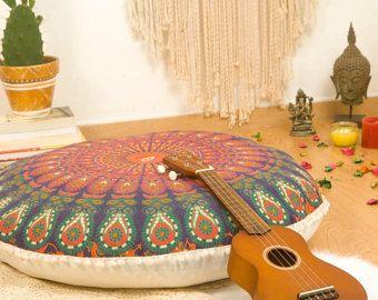 M s de 25 ideas incre bles sobre cojines de suelo en - Hacer meditacion en casa ...
