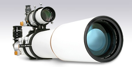 """Williams Optics FLT158 Triplet APO f/7 Refractor with 3.5"""" Focuser.   Features a top-quality triplet air-spaced objective with FPL-53 glass; custom designed and created by a leading Russian optical designer.  This scope delivers extremely sharp images and has a great color correction. It is ideal for astrophotography."""