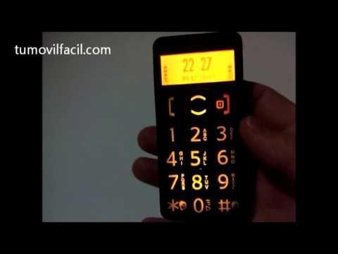 Telefono para mayores. teclas grandes. funcion sos, radio fm, linterna, etc. . . seguridad para los mayores y tranquilidad para nosotros. libre para usar con cualquier operador. mas informacion en www. tumovilfacil. com