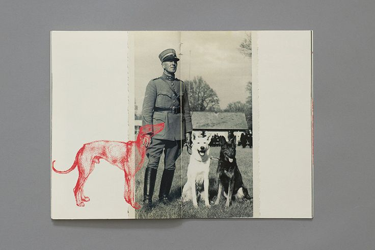 Yan Vuillème - Manual for the perfect little soldier, Soldier and his dogs