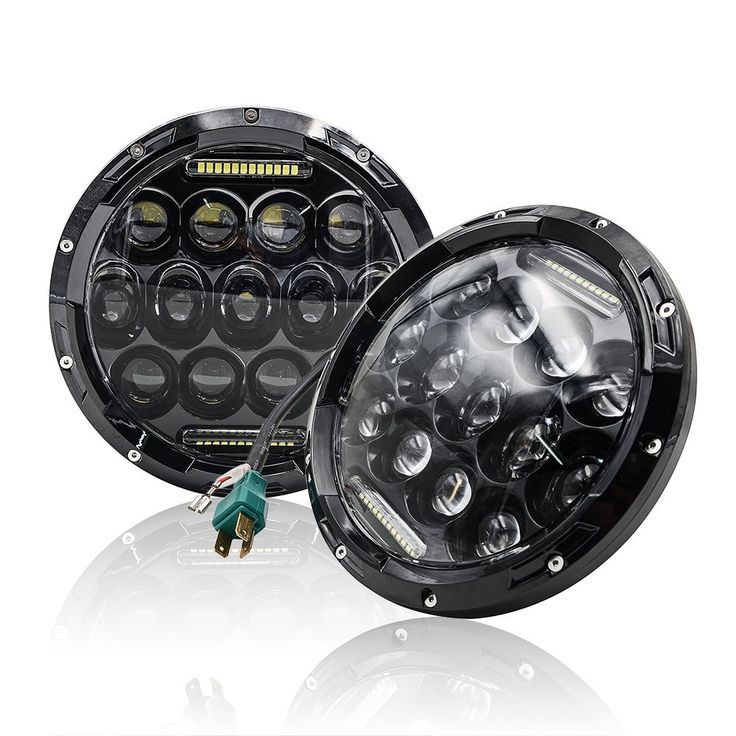 top 354 ideas about mictuning amazon 1 4x4 off road amazon com mictuning black 7 inch round 75w cree led headlights hi lo