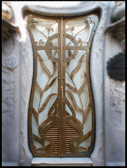 Doors of Recoleta Cemetery, Buenos Aires - Argentina