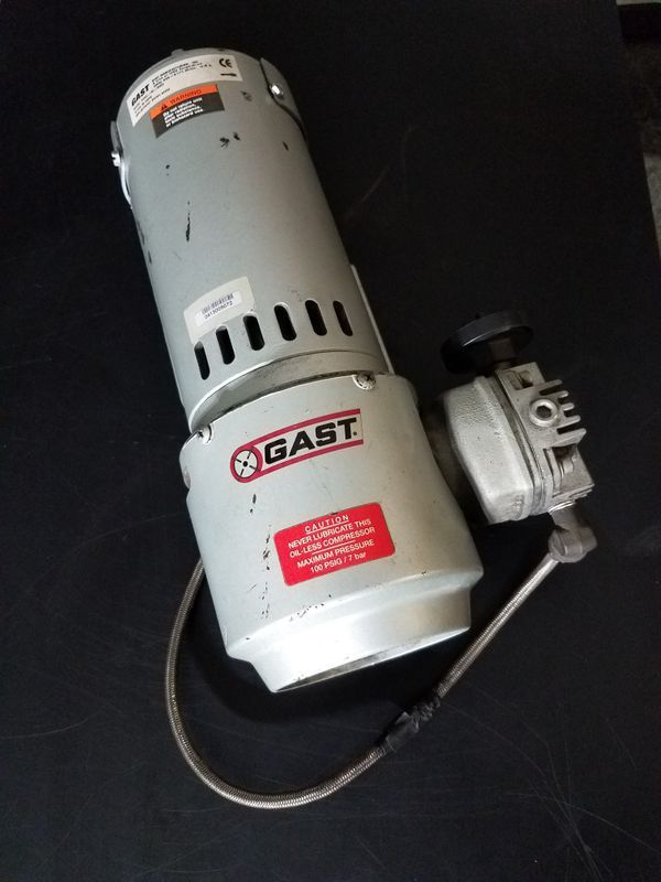 Used Normal Wear Gast Air Compressor Used For Reyco Granning Air Ride Suspensions Gast Part 2hah 19a M322 Selling Air Ride Stuff To Buy Buy And Sell