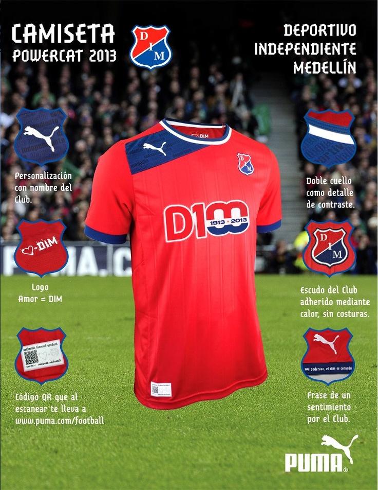 Independiente Medellín 2013 PUMA Home, Away and Third Jerseys