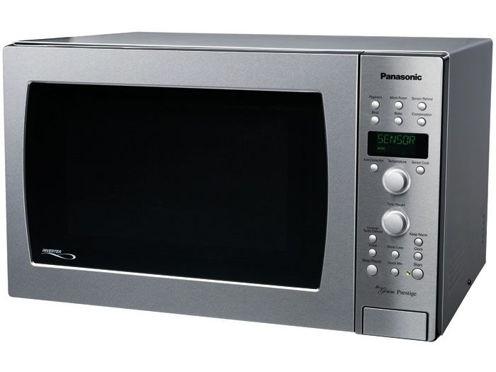 Panasonic NN-CD989S - Full Size 1.5 Cu. Ft. Prestige Counter Top/Built-in Convection Microwave Oven with Inverter Technology - Overview