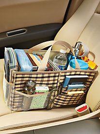Bolso organizador de coche. Mantenga su coche ordenado con este organizador  -  Car Organizer Bag. Keep your car tidy with this organizer.