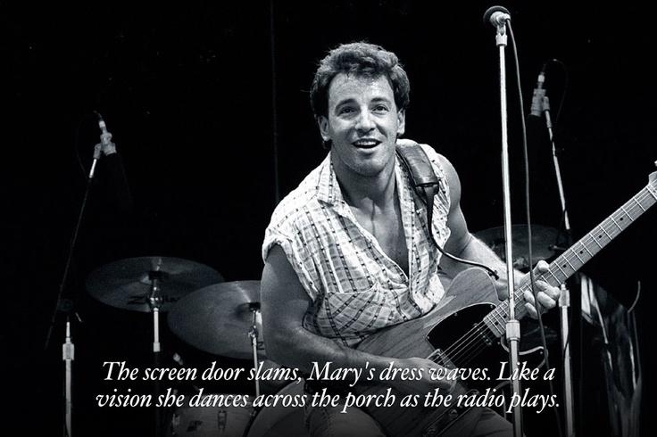 41 Best Bruce Springsteen Images On Pinterest