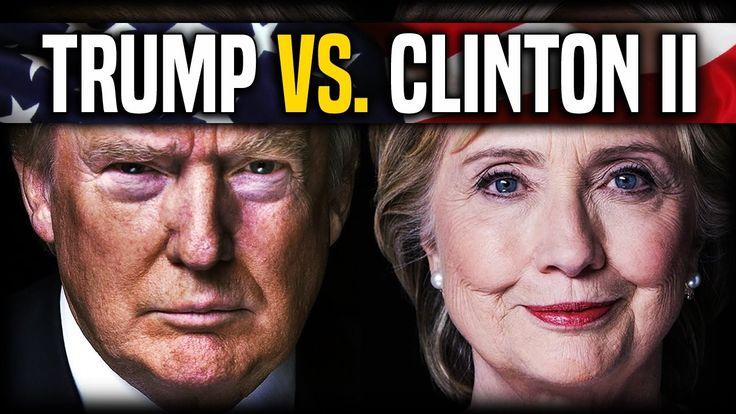 Donald Trump vs. Hillary Clinton   Second Presidential Debate Analysis