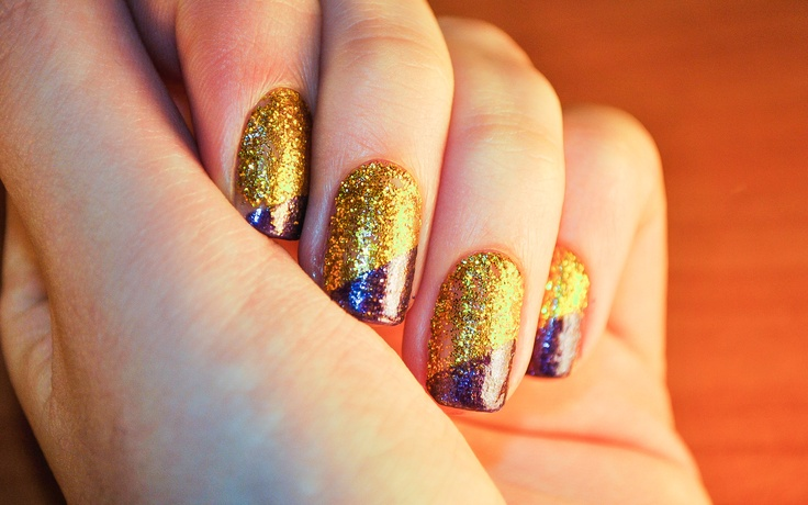 wikiHow to Make a Sparkly Nail Design -- via wikiHow.com