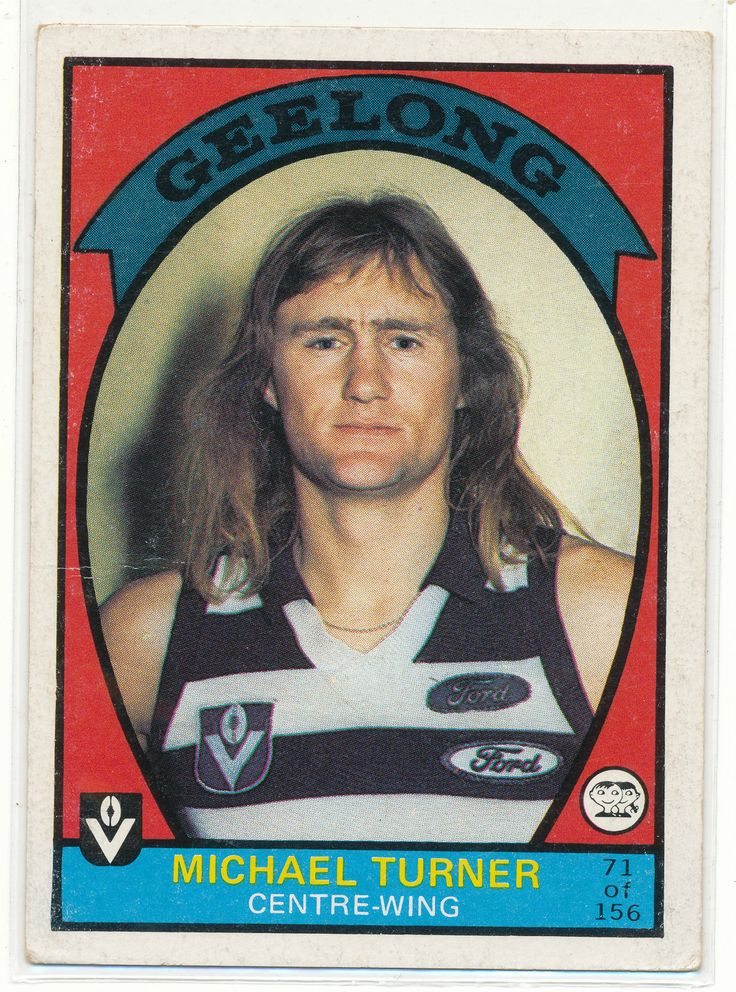 SCANLENS VFL AFL 1978 FOOTY CARD MICHAEL TURNER GEELONG CATS 21 FOOTBALL au.picclick.com