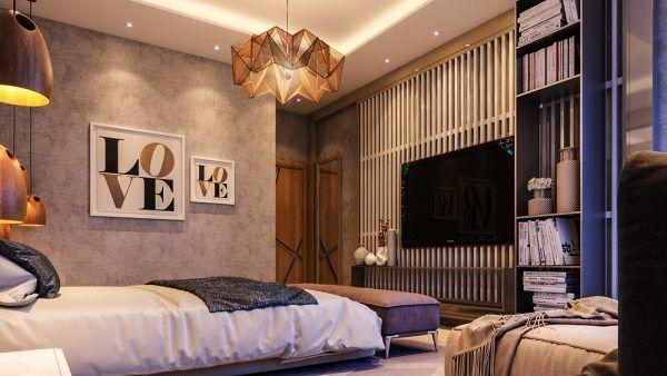 4个豪华的卧室空间设计