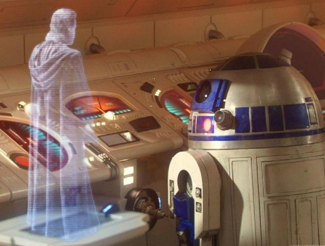 Gambar Teknologi Canggih - 360º 3-D Holographic Displays