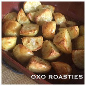 Oxo Roasties
