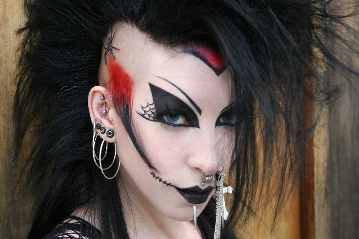 Fantasy Hair | ... Child, Body Paint, Cross, Fantasy, Goth, Hair, Lips, Piercings, Tattoo