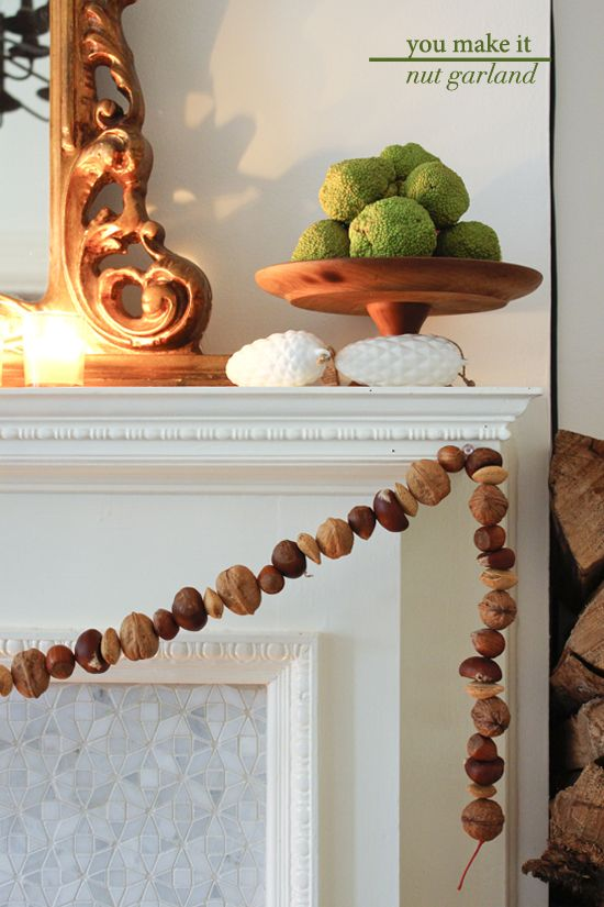 Victorian nut garland (tips)
