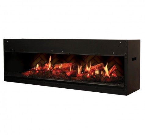 Opti-V™ Duet uses unprecedented technology to render flames and sparks for a virtual fireplace experience like no other. The unique and patent protected design combines ultra realistic flickering flames with three dimensional LED logs that sporadically spark and crackle! The perfect blend of magic and realism - Opti-V™ is the most unbelievable flame effect yet.