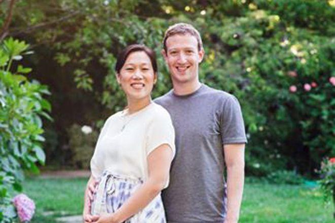 Mark Zuckerberg anuncia a chegada do herdeiro - sua esposa Priscilla está grávida - Blue Bus