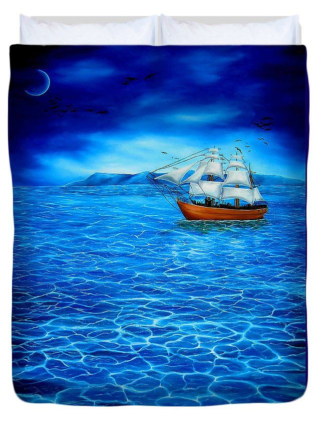 Duvet Cover,  home,accessories,bedroom,decor,cool,unique,fancy,artistic,trendy,unusual,awesome,beautiful,modern,fashionable,design,for,sale,items,products,ideas,blue,nautical,sailboat,marine,sea