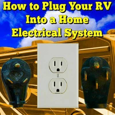 How to Plug Your RV Into a Home Electrical System