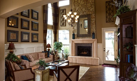 Toll Brothers Balmoral Stunning 2 Story Great Room At