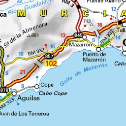 Michelin maps for scenic routes and restaurants