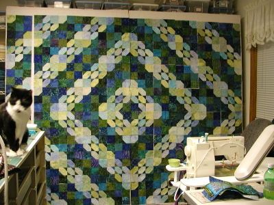 Derek's quilt (how-to tips - about half-way down the blog)