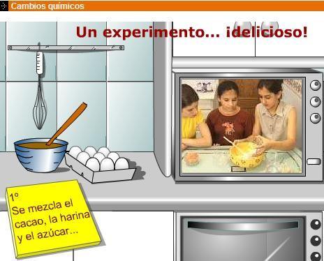 Cambios qu micos en la cocina c naturales pinterest for Cambios quimicos en la cocina