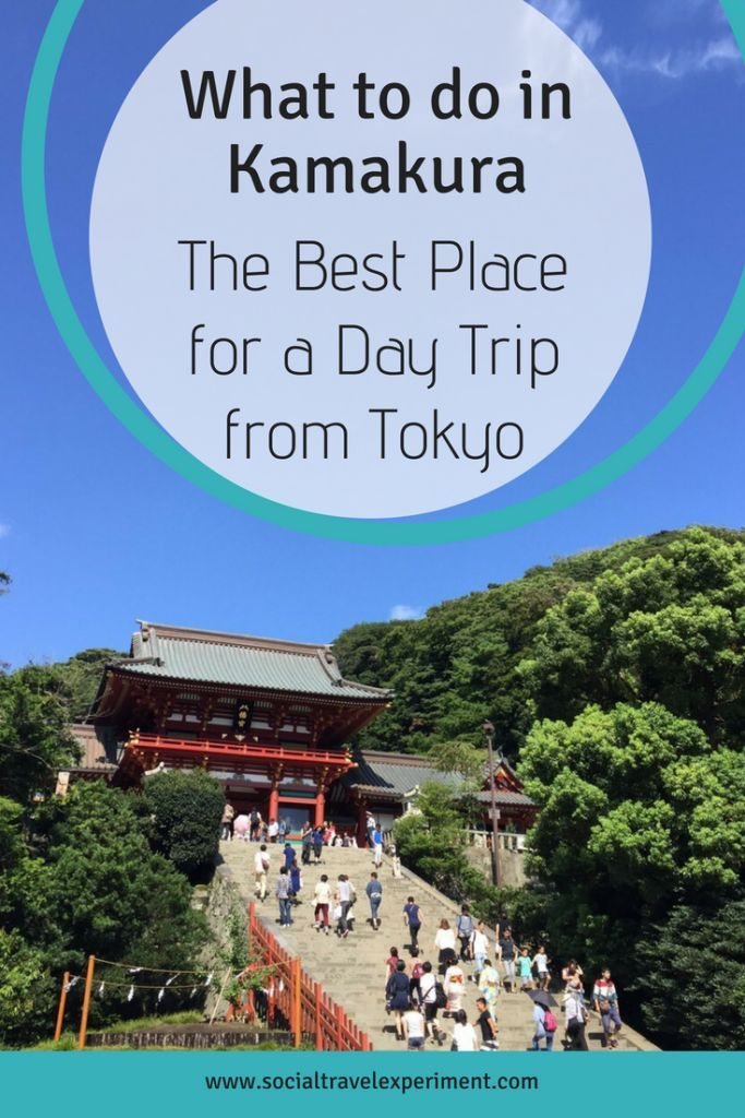 What To Do In Kamakura My Perfect One Day Itinerary The Travel Blogs Day Trips From Tokyo Japan Travel Culture Travel