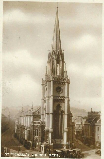St. Michael's Church, Bath, 1920s