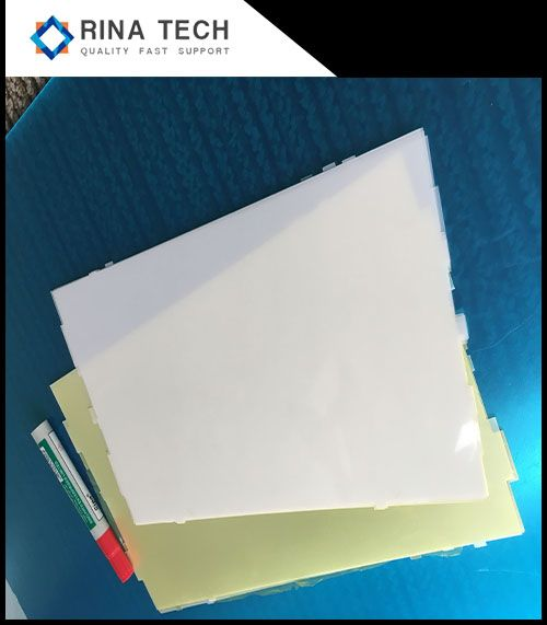 PS prismatic light diffuser film / led light diffuser sheet for sell