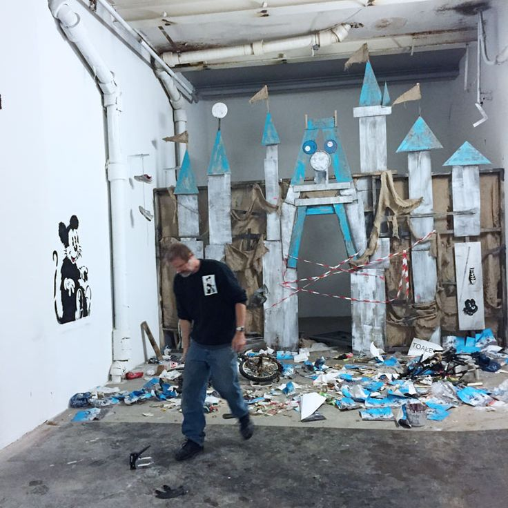 "Jeff Gillette and ""Dismayland"" Emerge from Nuart Debris : Brooklyn Street Art"