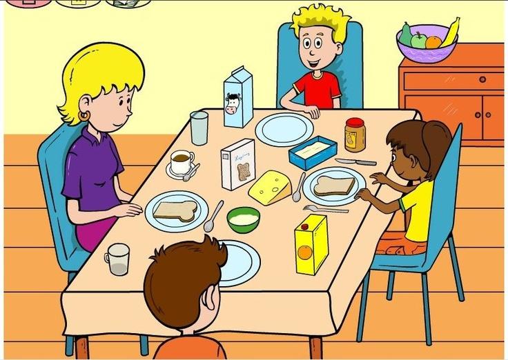 Lunch praatplaat