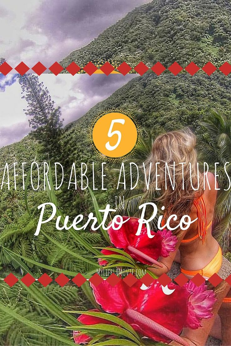 From bays that glow at night to secret waterfalls in the el Yunque Jungle, Puerto Rico has the best affordable adventures!