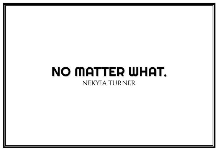 #87 no matter...