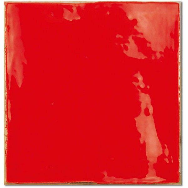 Kolekcja Mediterranean - płytki ścienne Mediterranean Red 15x15