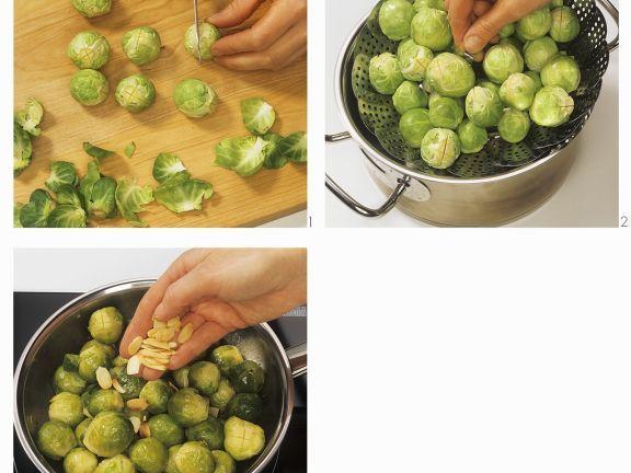 Rosenkohlgemüse mit Mandeln ist ein Rezept mit frischen Zutaten aus der Kategorie Gemüse. Probieren Sie dieses und weitere Rezepte von EAT SMARTER!