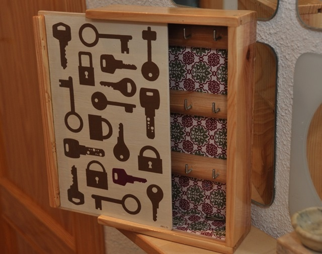 """DIY x4duros'13: """"La caja de las llaves"""" de Alex : x4duros.com"""