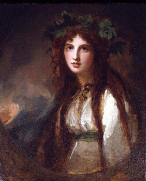 Bacchante (again): Lady Emma, Lady Hamilton, Emma Hamilton, Art, Lord Nelson, Portraits, George Romney, Painting