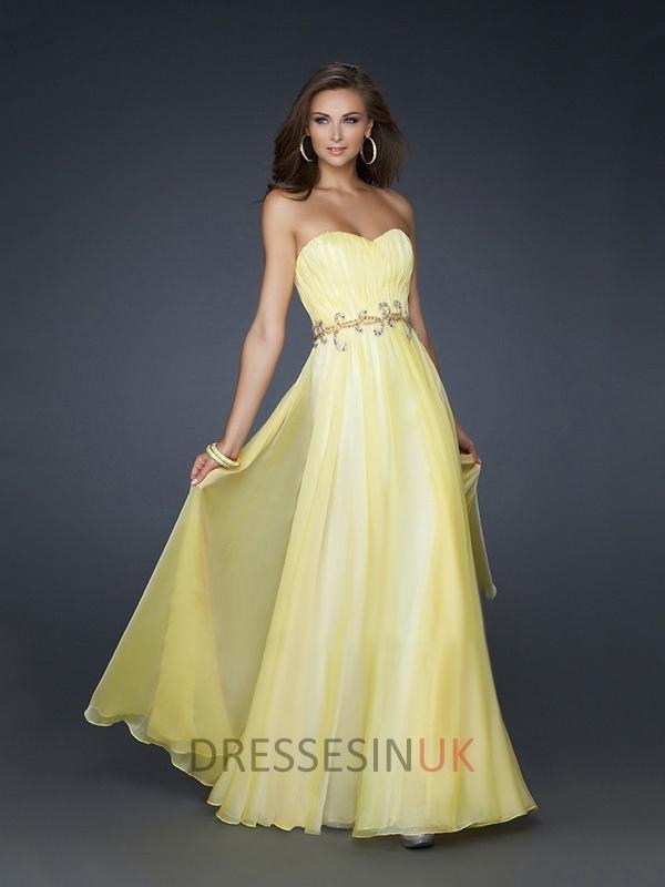 30 besten Yellow Prom Dresses Bilder auf Pinterest | Dresses 2013 ...