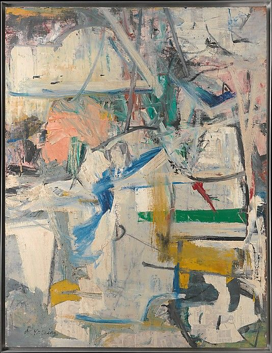 Easter Monday Willem de Kooning (American (born The Netherlands), Rotterdam 1904–1997 East Hampton, New York)