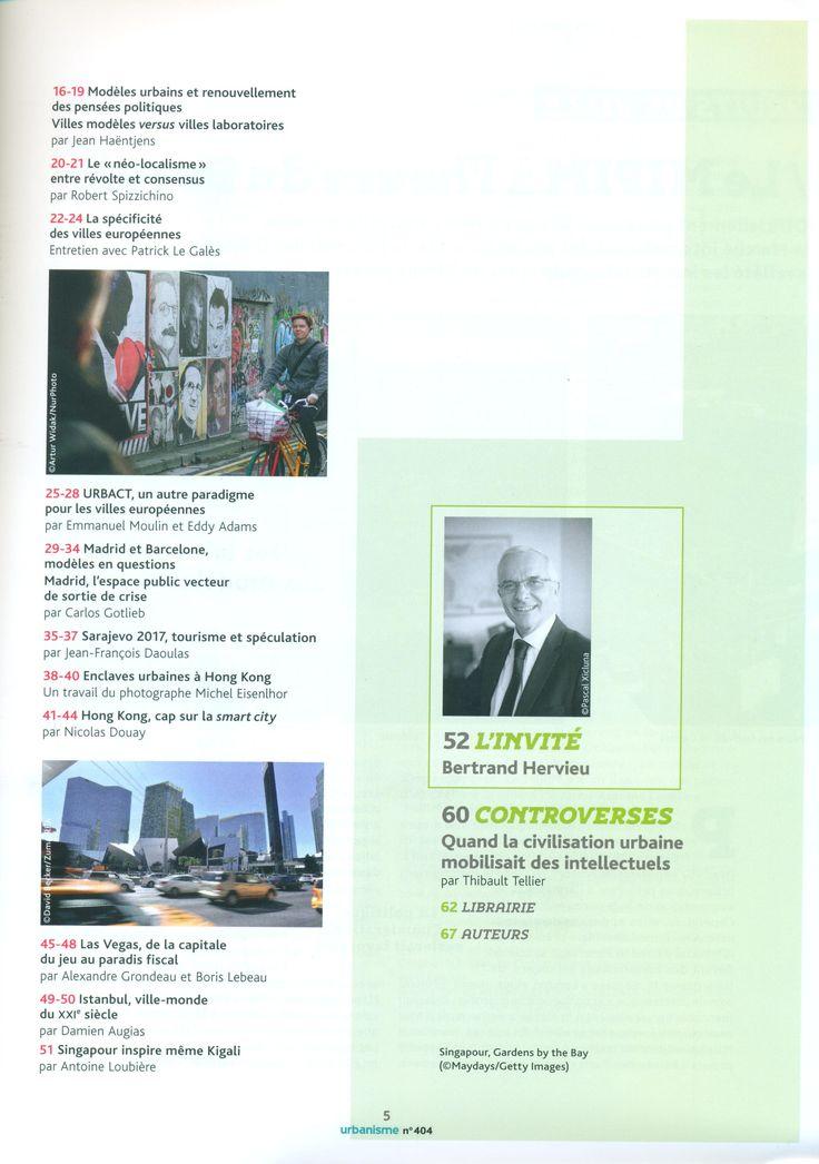 Revue urbanisme NO.404 PRINTEMPS 201